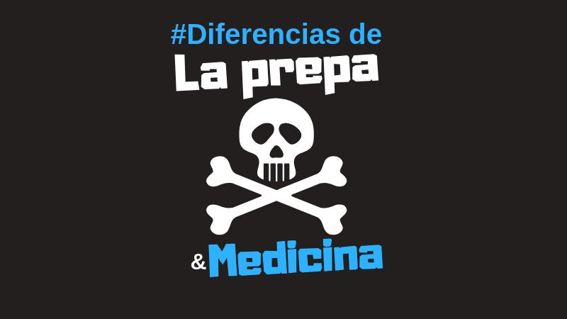 estudiar la preparatoria o bachillerato y la carrera de medicina